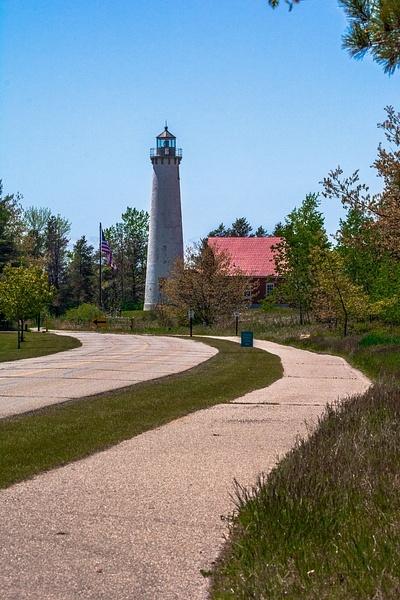 2019 Tawas Point Lighthouse on Lake Huron by SDNowakowski