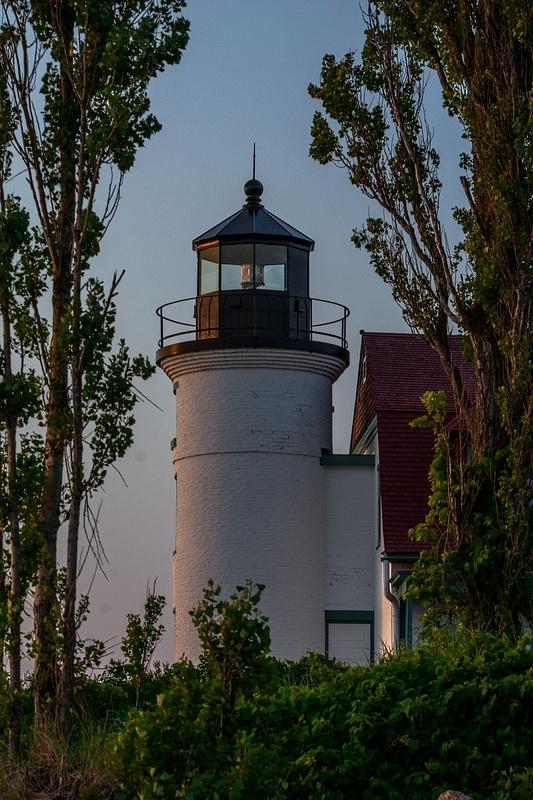Sunset @ Point Betsie Lighthouse
