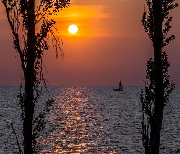 2019 Sunset @ Point Betsie Lighthouse on Lake Michigan...