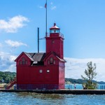 2019 Holland Channel Lighthouse (Big Red) in Holland, Michigan