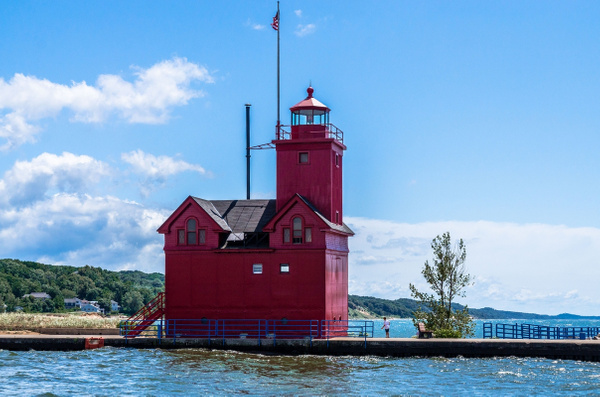 2019 Holland Channel Lighthouse (Big Red) in Holland,...