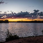 2019 Sunsets over Lakes in Northern Michigan