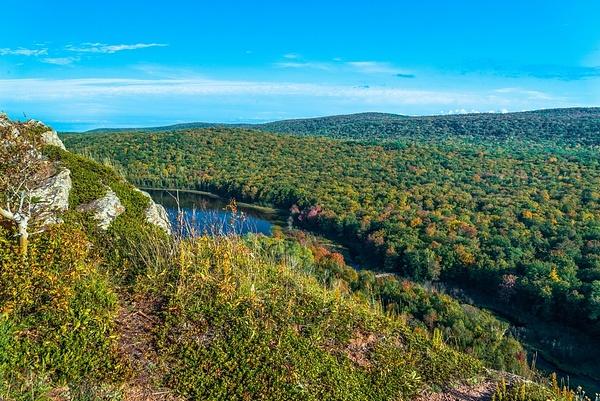 2019 Upper Peninsula of Michigan Waterfalls and Lake of...