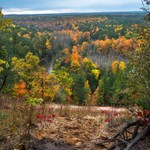 2019 Manistee River Fall Colors in Northern Michigan