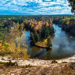 2019 Manistee River Fall Colors 2 Oct.