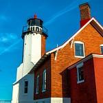 2019 Eagle Harbor Lighthouse on the Keweenaw Peninsula of Michigan