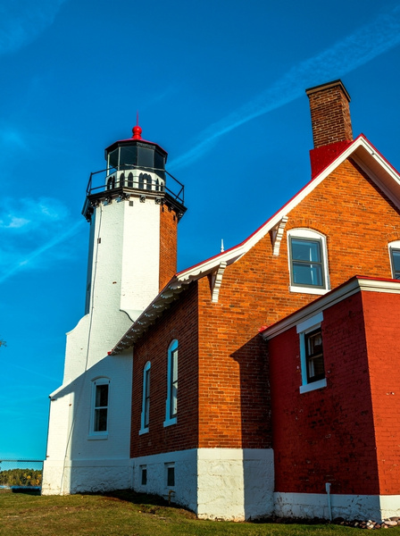 2019 Eagle Harbor Lighthouse on the Keweenaw Peninsula...