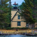 2019 Bete Grise Lighthouse Located on the Keweenaw Peninsula in October