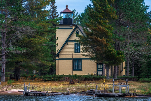 2019 Bete Grise Lighthouse Located on the Keweenaw...