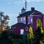 2019 Marquette Harbor Light Falls Colors in October