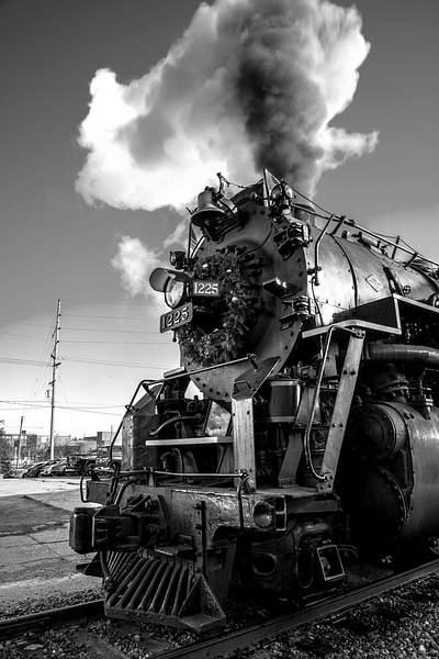 Pere Marquette #1225 Steam Locomotive