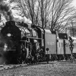 2020 Railroad Pictures From Last Year Converted To Grayscale