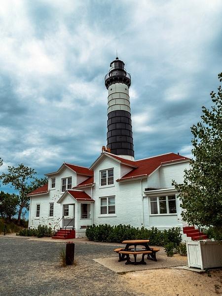2019 Big Sable Point Lighthouse inside Ludington State...