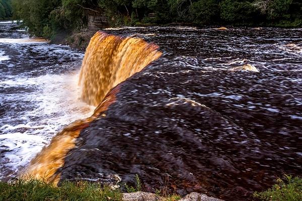 2017 Tahquamenon Upper Falls located Inside Tahquamenon...