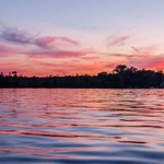 2017 Kayaking Pinckney State Recreation Area at Sunset