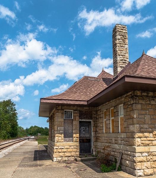 2019 Harrisville Railroad Depot/Station by SDNowakowski