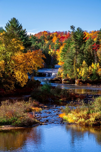 2015 Tahquamenon Falls Fall-Colors Reworked Pics by...