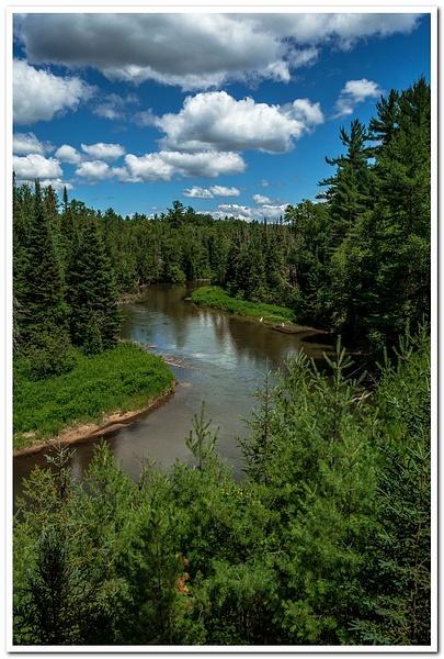 2020 Manistee River Pano Pics by SDNowakowski