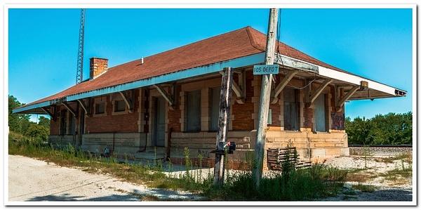 2020 Malinta, Liberty Center and Delta Railroad Depots...