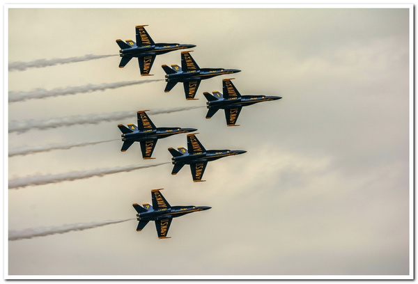 A Look Back at Previous Navy Blue Angels Air Shows From...