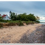 2020 Point Iroquois Lighthouse Pano Pics