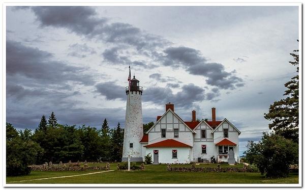 2020 Point Iroquis Lighthouse in Aug. by SDNowakowski