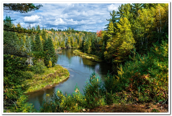 2020 Manistee River Fall Colors with D5100 by...