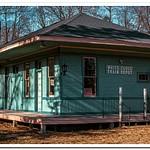 2018 White Cloud Railroad Depot