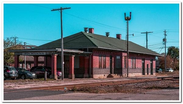 2018 Iron Mountain Railroad Depot by SDNowakowski