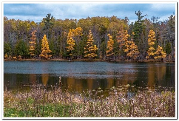 2018 16-Road Pond Fall Colors by SDNowakowski