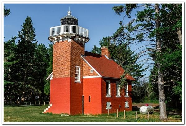 Sand Point Lighthouse by SDNowakowski