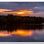 2020 Sunrise & Sunset Pictures on Lake Gitchegumee in Buckley, Michigan