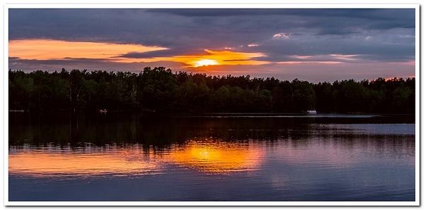 2020 Sunrise & Sunset Pictures on Lake Gitchegumee...