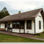2020 Brimley Railroad Depot and Museum Display