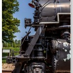 2019 P&M #1223 Railroad Display in Grand Haven, Michigan