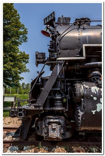 2019 P&M #1223 Railroad Display in Grand Haven,...