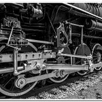 2019 P&M #1223 Railroad Display in Grayscale
