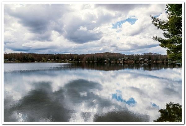 2021 Cloudy Day @ Dayhuff Lake North of Cadillac,...