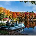 2020 Fall Colors on Dayhuff Lake