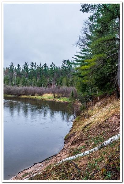 Manistee River by SDNowakowski