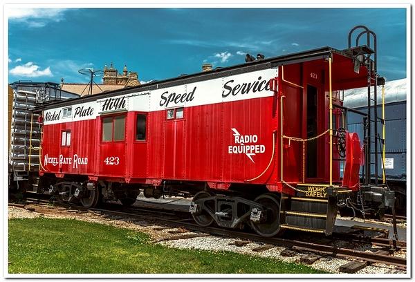 2021 NKP #757 Steam Locomotive on Display at the NKP...