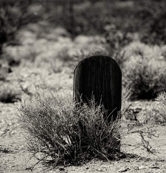 Cropped Grave Marker