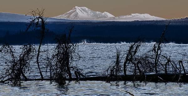 Mist Rising At Diamond Lake