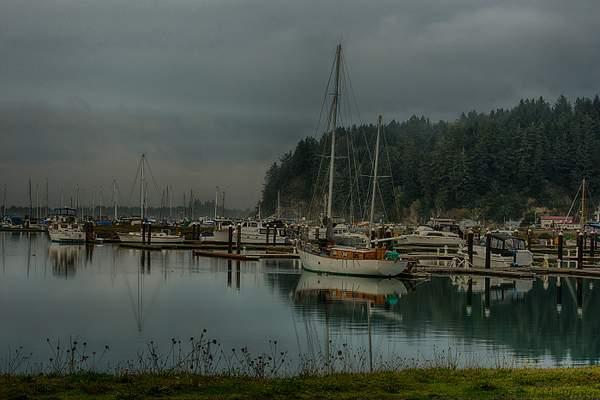 Cloudy Day At the Marina
