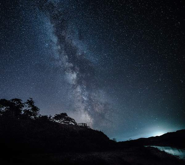 Milky way at Holman Overlook