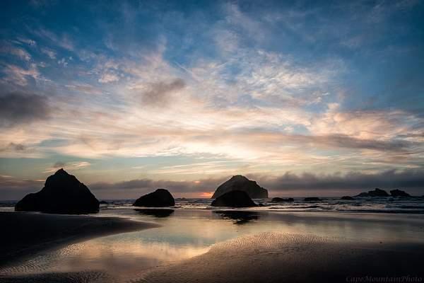 Path To the Sunset At Bandon Rocks