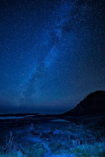 Milky Way Over Bob Creek Wayside