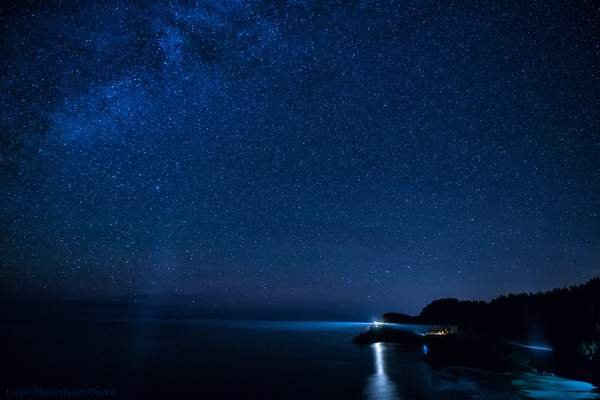 Stars and Lighthouse