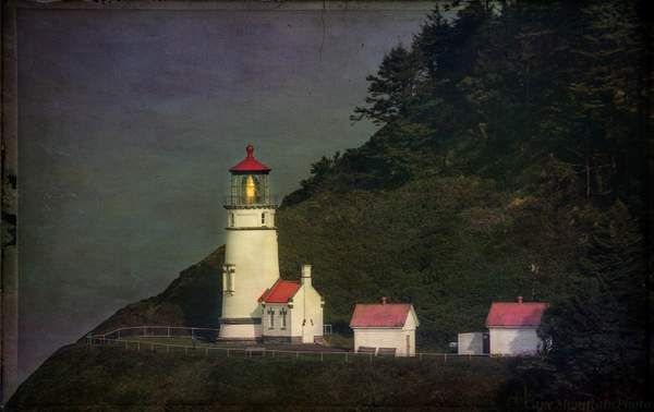 Lighthouse With Texture