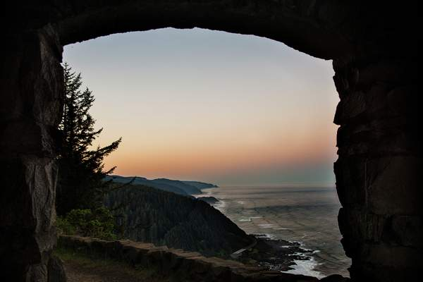 Morning Glow From Cape Perpetua1